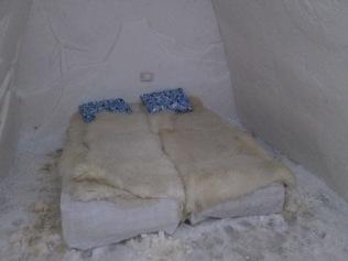 Snow bedroom